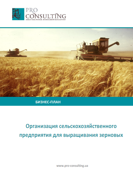 Пример бизнес плана выращивание зерновых культур 30