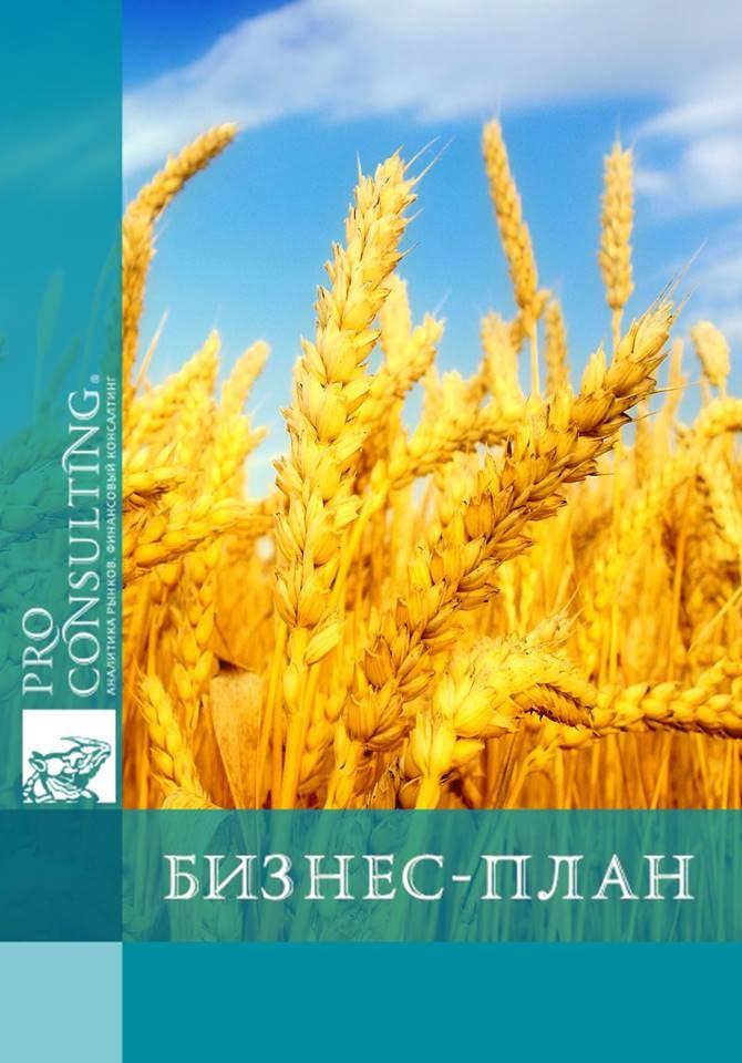 Пример бизнес плана выращивание зерновых культур 43